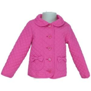 Gymboree Pink Jacket with Heart Buttons Size 2T/3T